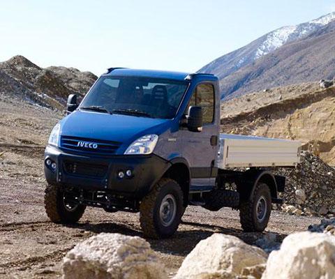 Iveco DAILY 4x4 - лучший симбмоз среди легких грузовиков