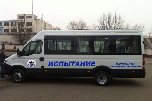 маршрутные такси Iveco Daily